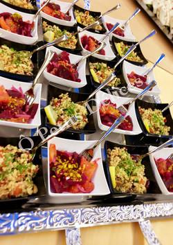 Orangen-Randen Salat, Couscous Salat