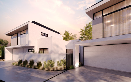 7 Hendon Place - Front House Side Render