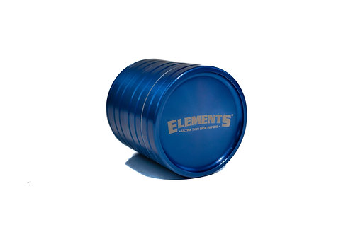 Elements 4 Piece Aluminium Grinder 2.2""