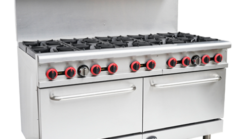 SABA GR-60 Gas 10 Burners with Oven 362,000