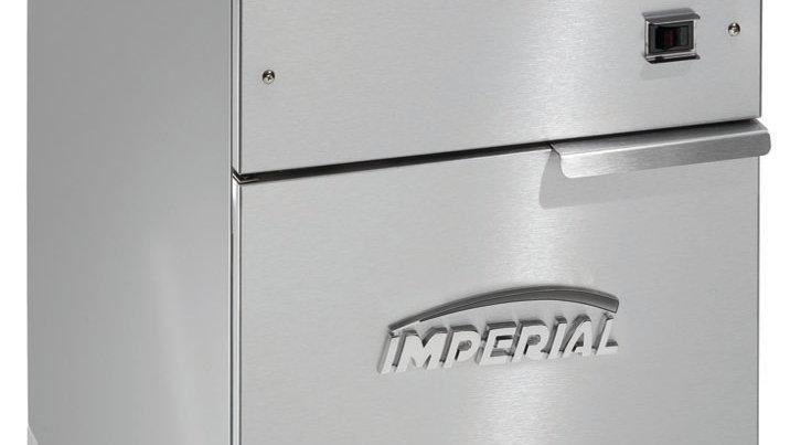 Imperial Range IFS-40-E 40lb Electric Full Pot Fryer Floor Model with (2) Basket