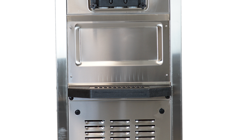 SPACEMAN 6250H – Mid Capacity, Twin Twist Floor Standing Soft Serve Machine