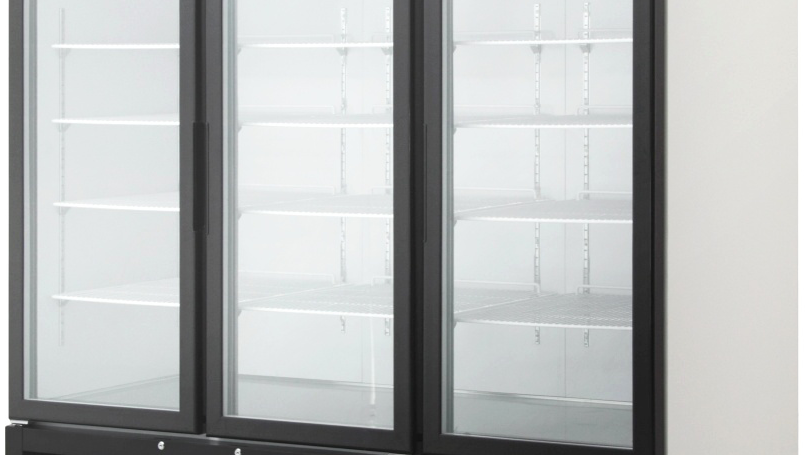 BKGM72-HC Swing Glass Door Merchandiser Refrigerator