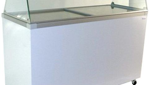 14.1 cu. ft. Flat Glass Top Sliding Lid (10 hole)