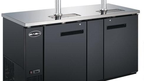 SDD-27-69 27″ Depth 69″ Beer Dispenser Refrigerator