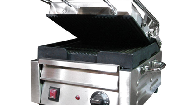 """10""""x11"""" Ribbed Sandwich Grill"""