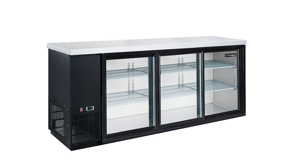 DBB72-S3 3 Door Bar and Beverage Cooler (Sliding Doors)