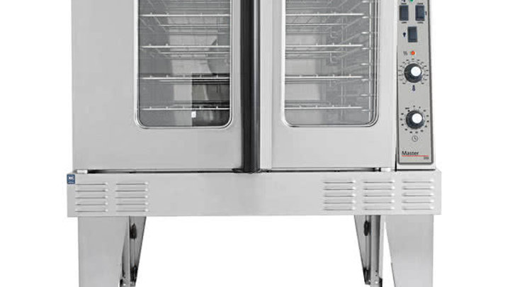 Garland MCO-GS-10-ESS Single Deck Full Size Natural Gas Convection Oven - 60,000