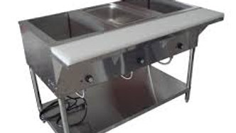 "Cozoc ST5005E-3 - Hot Food Table, electric, wet or dry operation, 47""W, (3) well"