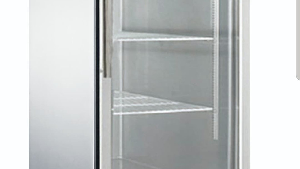 D28R-GS1 Bottom Mount Glass Single Door Commercial Reach-in Refrigerator