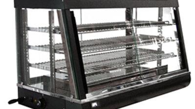 "Omcan 21570 Commercial 36"" Hot Food Warmer Glass Merchandiser Display Case"