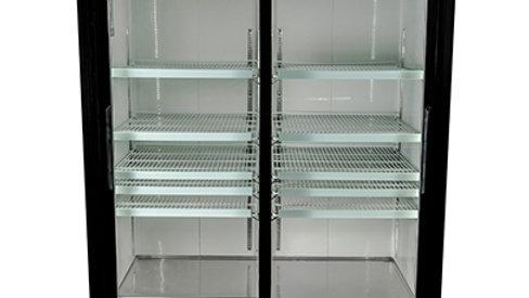 SM-45RS Glass Door Merchandiser – Sliding Door Refrigerator