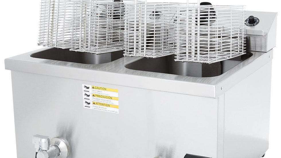 Vollrath 40710 30 lb. Commercial Countertop Deep Fryer - 208-240V