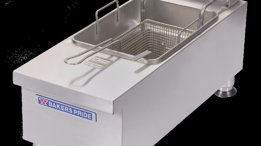 Bakers Pride BPHEF-15SI Countertop Electric Fryer - (1) 15 lb Vat, 208 240v/1ph