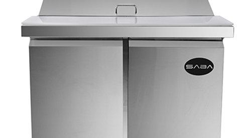 SPS-36-15M 36″ Two Door Mega Top Sandwich/Salad Prep Refrigerator