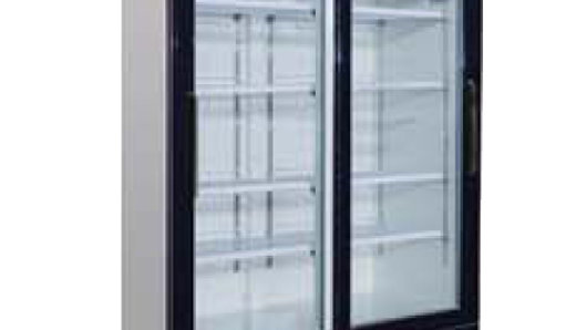 GR-48 Sliding Glass Door Reach-In Refrigerator