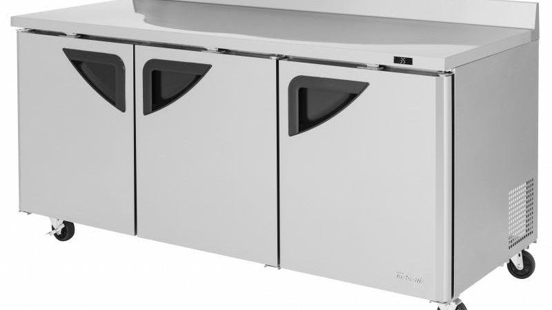 """TWR-72SD-N 72"""" Super Deluxe Worktop Refrigerator"""