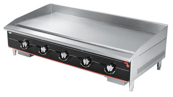 "Vollrath 960GGT Cayenne 60"" Heavy Duty Countertop Griddle with Thermostatic"