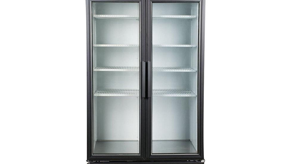 """True GDM-35-HC-LD 39 1/2"""" 2 Swing Glass Door Merchandiser"""