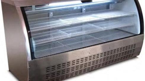 """78"""" Curve glass Deli Case (XDC200)"""