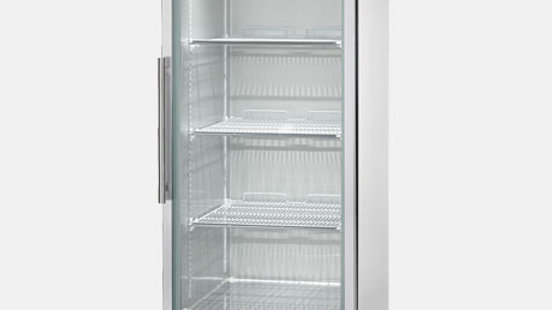 MODEL AGR23 Glass Refrigerator