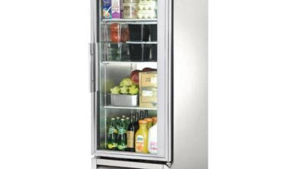 """True TS-23G - 27"""" Glass Door Reach In Refrigerator"""