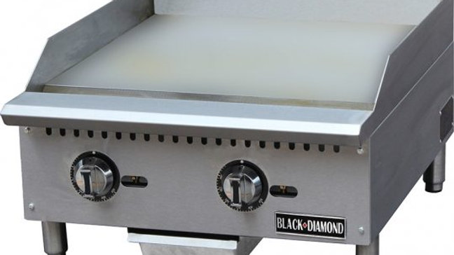Black Diamond BDCTG-24T 24in Thermostatic Gas Griddle NG