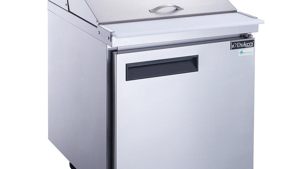 DSP29-12M-S1 1-Door Commercial Mega Top Food Prep Table Refrigerator