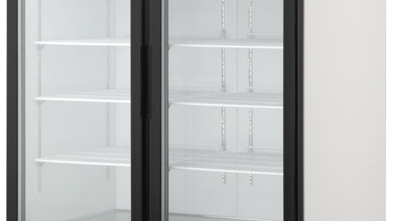 BKGF49-HC Swing Glass Door Merchandiser Freezer