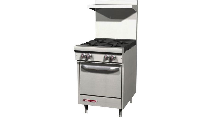 S24E Southbend S-Series 4 Burner with Oven