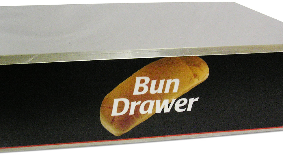 Dry Bun Box for 20 Dog Roller Grill