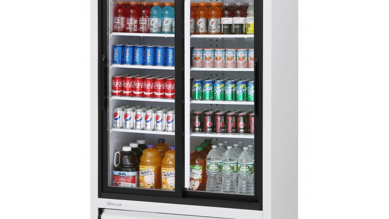 Turbo Air TGM-35R-N Slide Door Glass Refrigerator