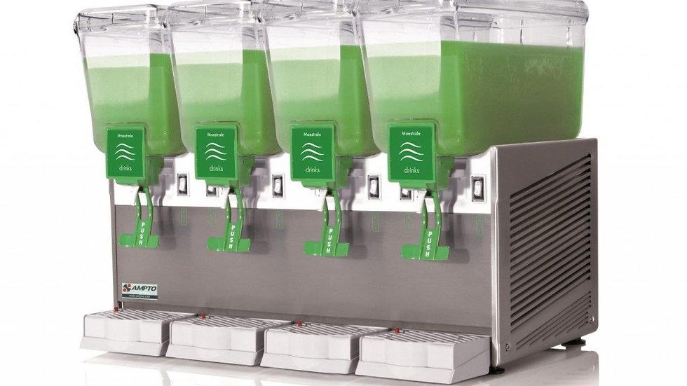 Cold Beverage Dispenser 4 Bowl