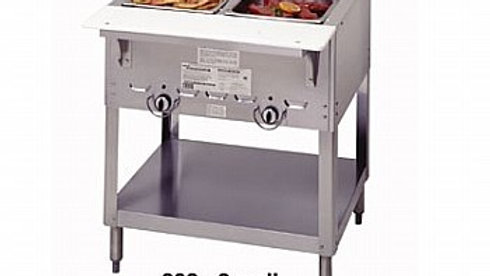 "2 Well Duke 302 Aerohot Steamtable Hot Food Unit, 30-3/8""L"
