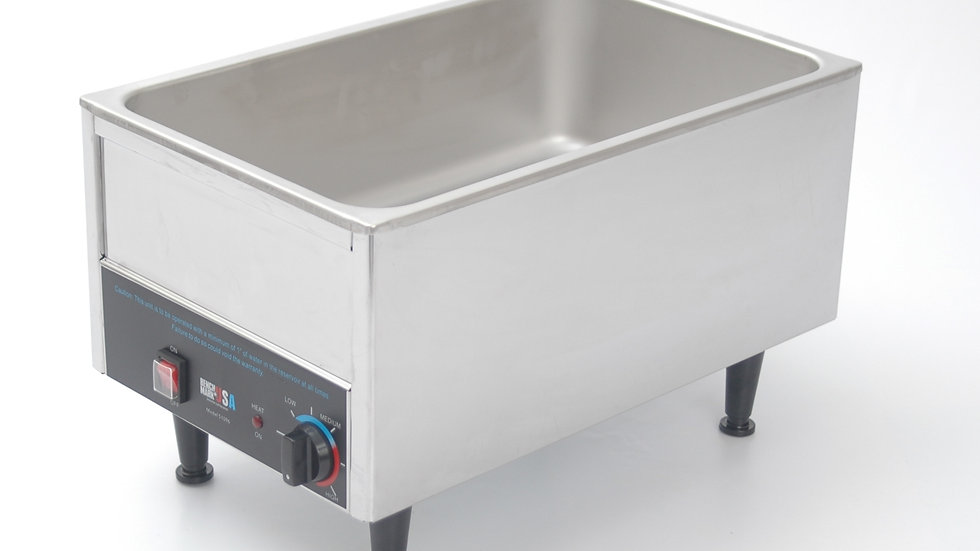 "Benchmark 51096 12"" x 20"" Commercial Food Warmer Stainless 1200 Watt"