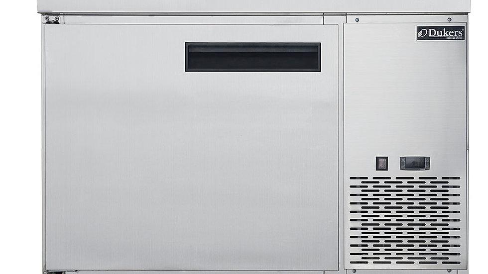 DPP44-6-S1 Commercial Single Door Pizza Prep Table Refrigerator