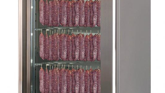 STAGIONELLOEVO® 150 KG CURING CABINET WITH CLIMATOUCH® AND FUMOTIC®