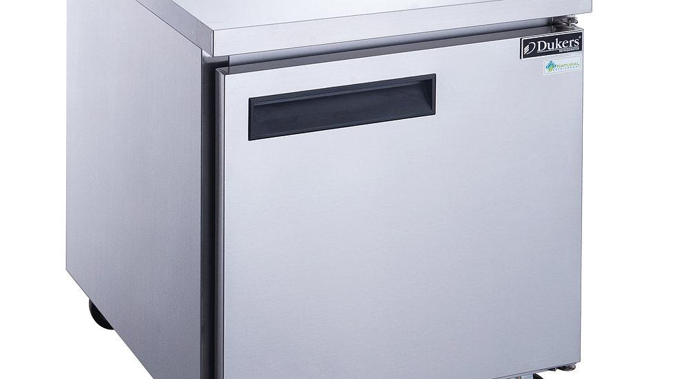 DUC29R Single Door Undercounter Refrigerator in Stainless Steel