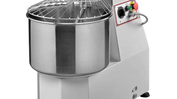 HEAVY-DUTY SPIRAL DOUGH MIXER WITH 40 LB. CAPACITY