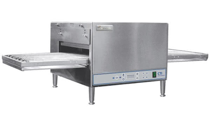 "Lincoln 2501/1366 50"" Single Belt Digital Impinger Countertop Conveyor Oven - 20"