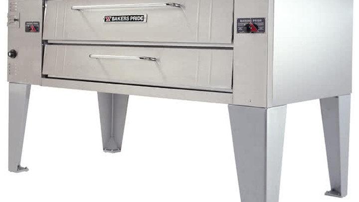"Bakers Pride Y-600 Super Deck Y Series Nat/ LP Gas Single Deck Pizza Oven 60"" -"