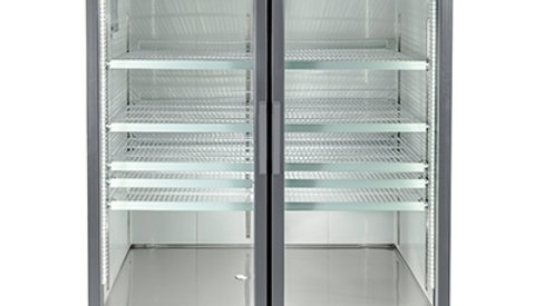 SM-45F Two Glass Door Merchandiser Freezer