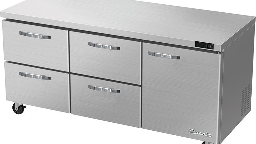 BLUR72-D4LM-HC Undercounter Refrigerator Drawer
