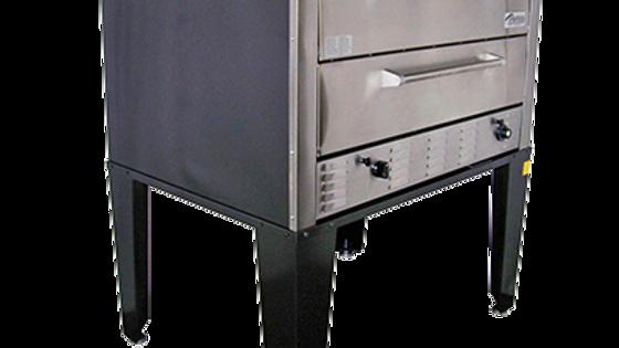 Peerless Ovens CW61P 2 Door Gas Pizza Oven Twin 42x32x1 Hearth Decks Floor Model