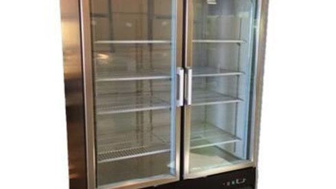 53″ Double Pull Glass Door Visa Freezer (XD1.2BM2F-HC)
