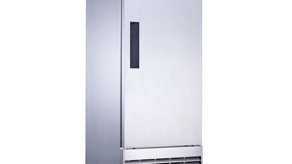 D28F Single Door Commercial Freezer in Stainless Steel