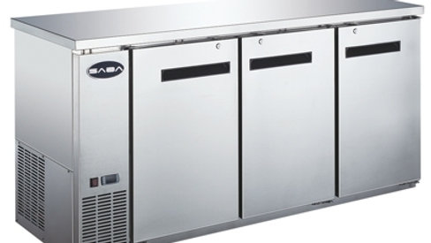 Saba SBB-24-72SS Stainless Steel Back Bar Cooler