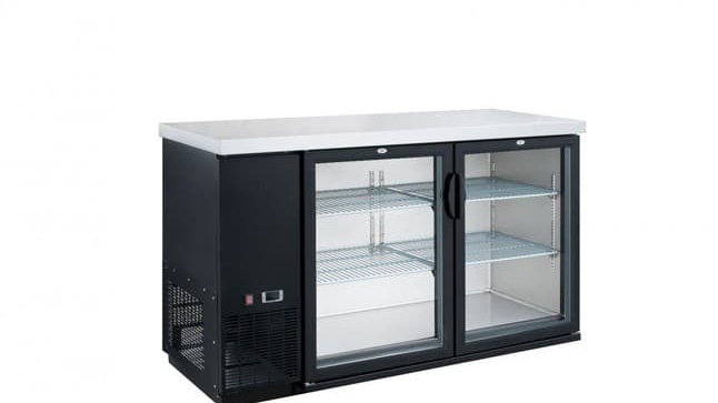 DBB60-H2 2 Door Bar and Beverage Cooler (Hinge Doors)