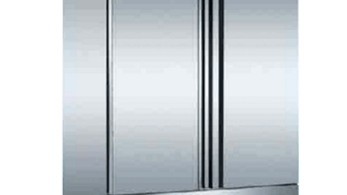Reach-in 2-Door Stainless Steel Refrigerator