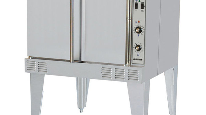 SunFire Series SCO-ES-10S Single Deck Full Size Electric Convection Oven